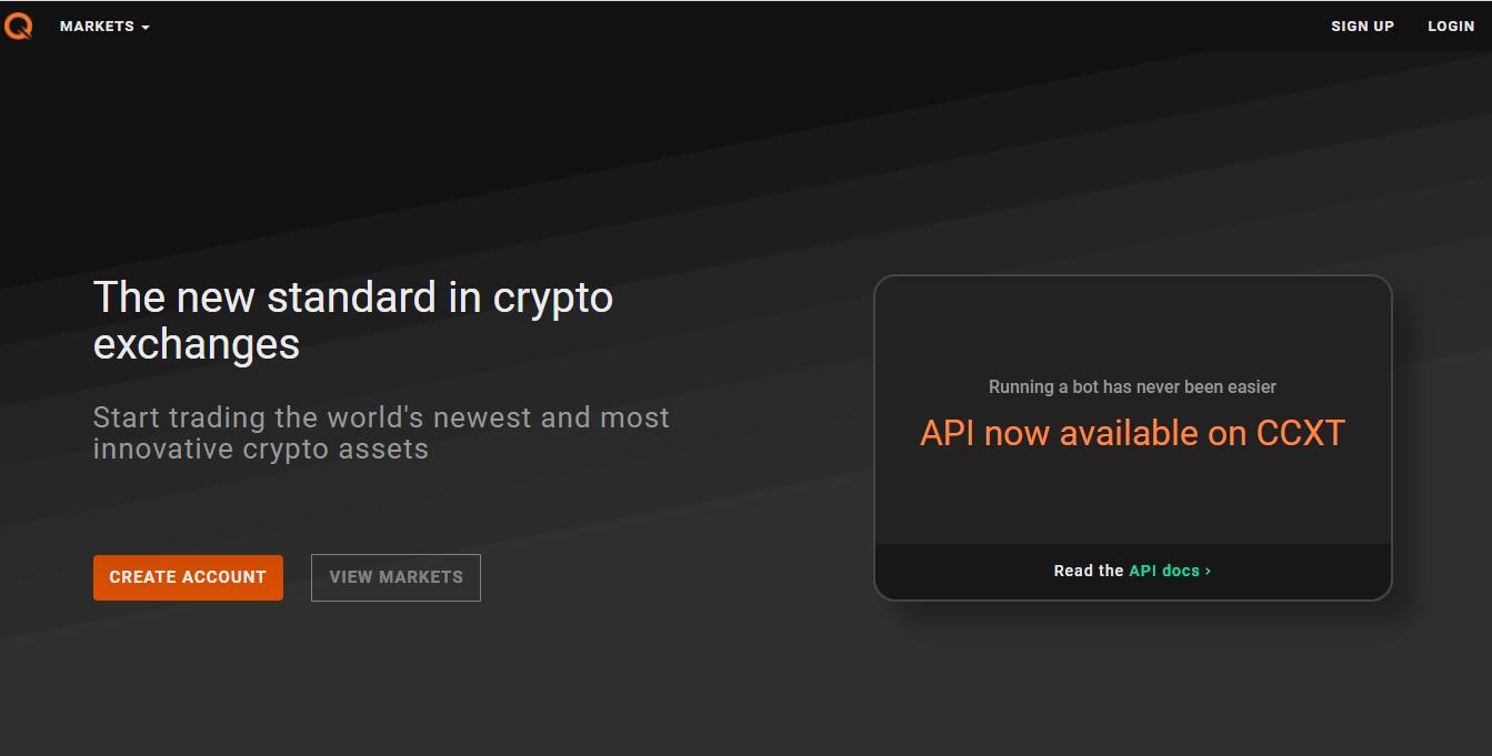 qtrade crypto exchange)